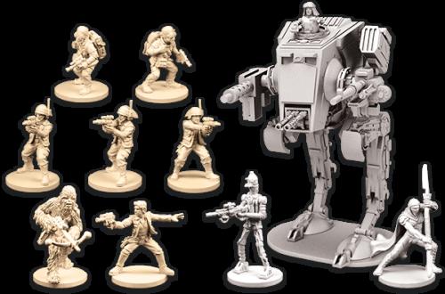 Figuren aus den ersten Ally and Villain Paketen Quelle: Star Wars: Imperial Assault Ally and Villain Pakete Quelle: http://www.fantasyflightgames.com/edge_news.asp?eidn=5118