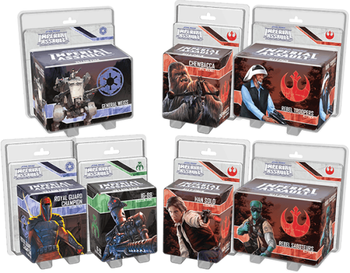Star Wars: Imperial Assault Ally and Villain Pakete Quelle: http://www.fantasyflightgames.com/edge_news.asp?eidn=5118