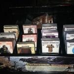 Karten in der Box.