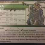 Charakterkarte von Kyra die Klerikerin.