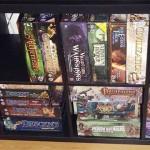 Mein Brettspiele Regal (nicht alle Spiele in diesem Regal)