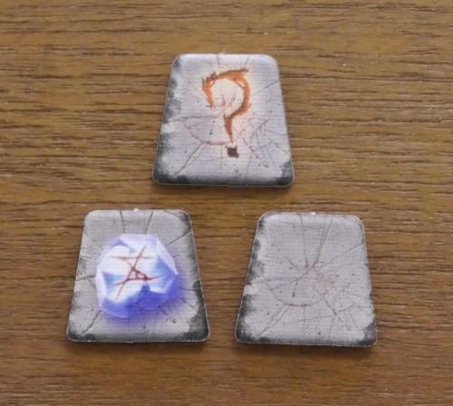 Runenmarker - Vorder- und Rückseite