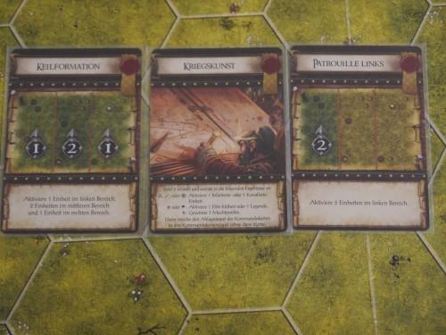 Beispiel Kommandokarten