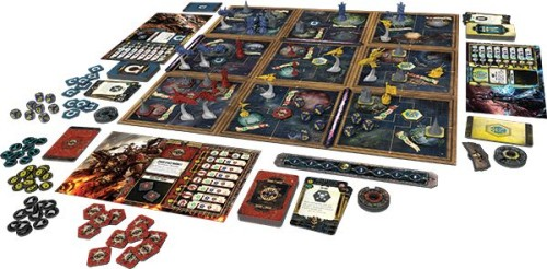 Das Spielbrett in Forbidden Stars Foto: Fantasy Flight Games