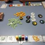 Ressourcen und Spielertableau