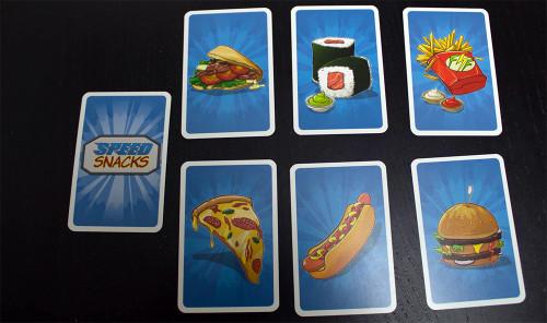 DIe unterschiedlichen Snack-Karten