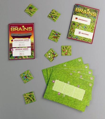 Spielmaterial Brains Japanischer Garten