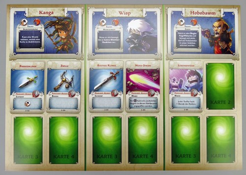 Arcadia Quest Gildentableau