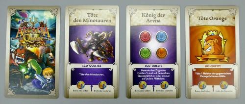 Arcadia Quest Questkarten