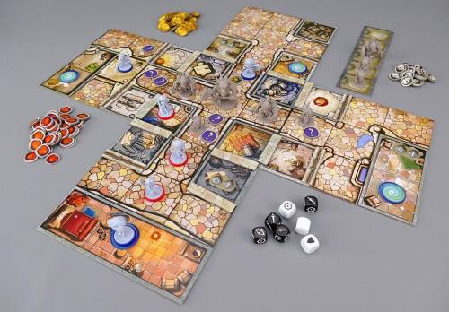 Arcadia Quest Spielfeld