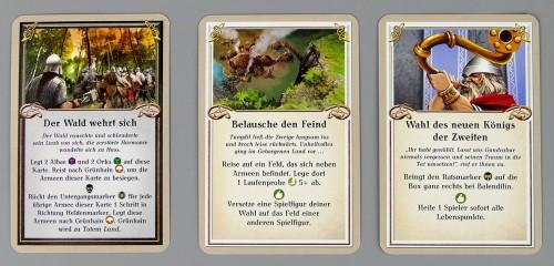 Die Zwerge Abenteuerkarten