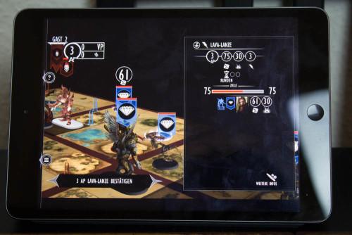 Schlachtfeld in der App