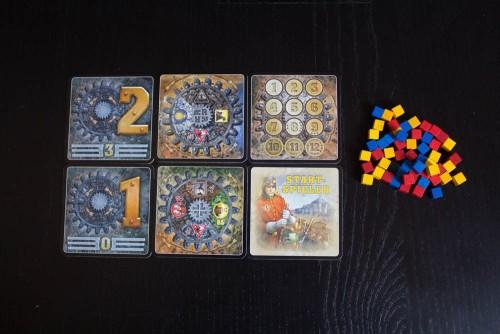 Spielmaterial von Empire Engine