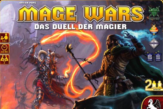 Mage Wars – News (Video zur Erweiterung), Rezension