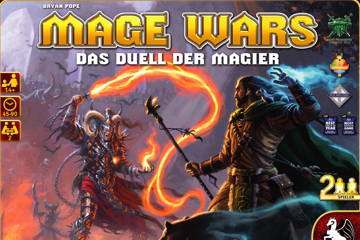 Bild von Rezension: Mage Wars