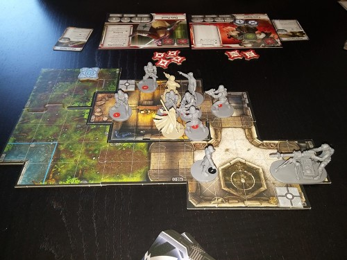 Star Wars: Imperial Assault Ende der 1. Mission