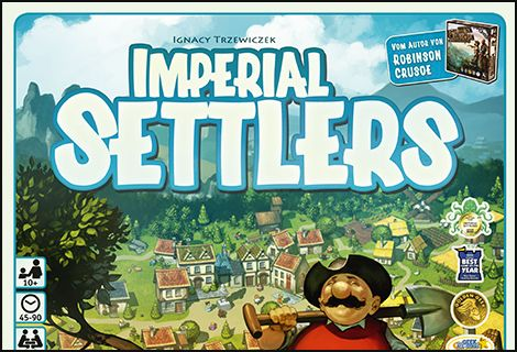 Imperial Settlers Cover