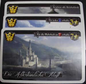 Die Karten mit Krone