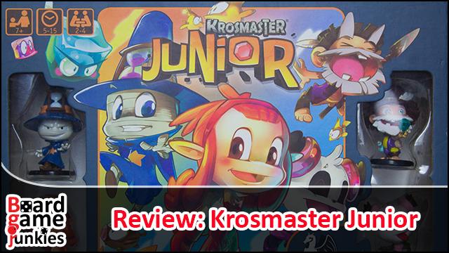 Krosmaster Junior Videorezension YouTube Boardgamejunkies
