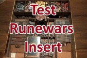 Runewars Insert von The Game Doctors Test