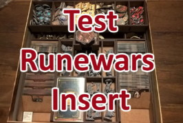 Runewars Insert von The Game Doctors Test