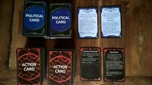 Politik- und Aktionskarten
