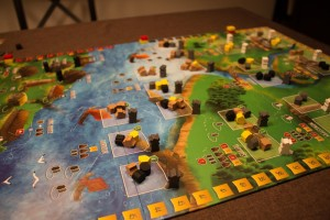 Spielplan Raiders of the North Sea