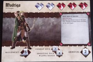 Heldenkarte Bogenschütze