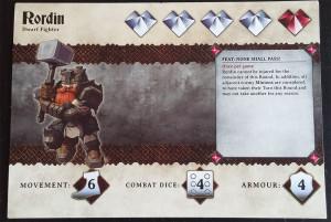 Heldenkarte Zwerg Krieger