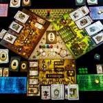 Überblick Spielfeld mit allen 3 Wettbewerben