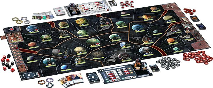 Star Wars: Rebellion Spielaufbau