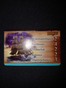 Das neue Schiff: Die Brigg
