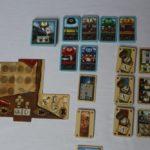 Die Waggon- und Spielendekarten