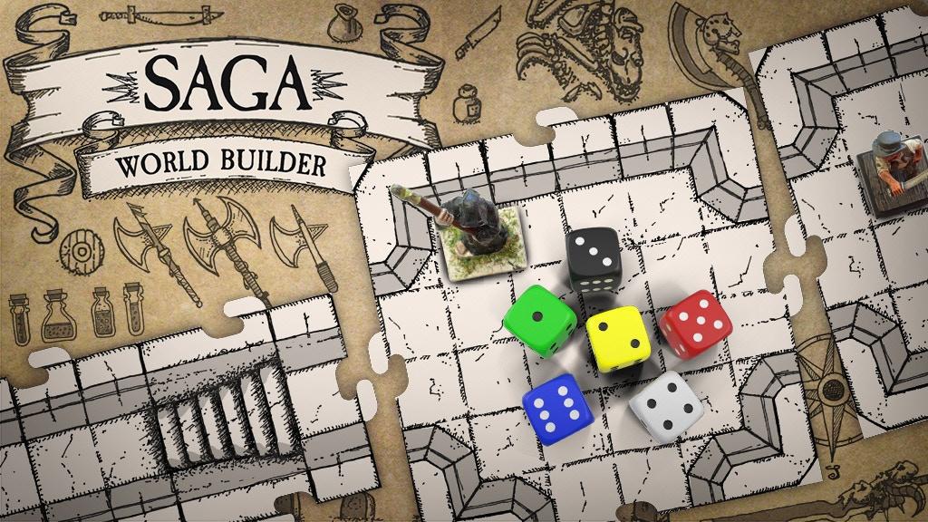 Bild von Saga World Builder – Modulare Spielplanteile