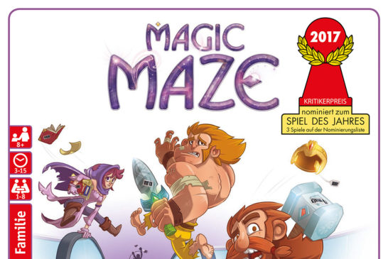 Rezension: Magic Maze