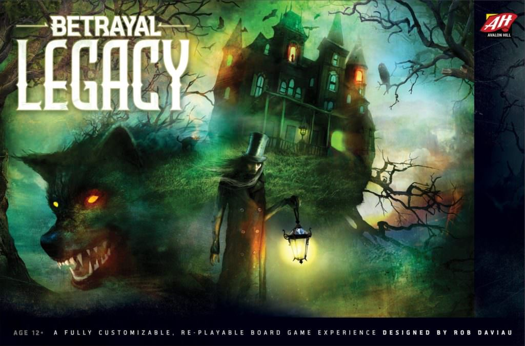 Betrayal Legacy bei Avalon Hill