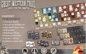 Great Western Trail: Rail to the North von eggertspiele
