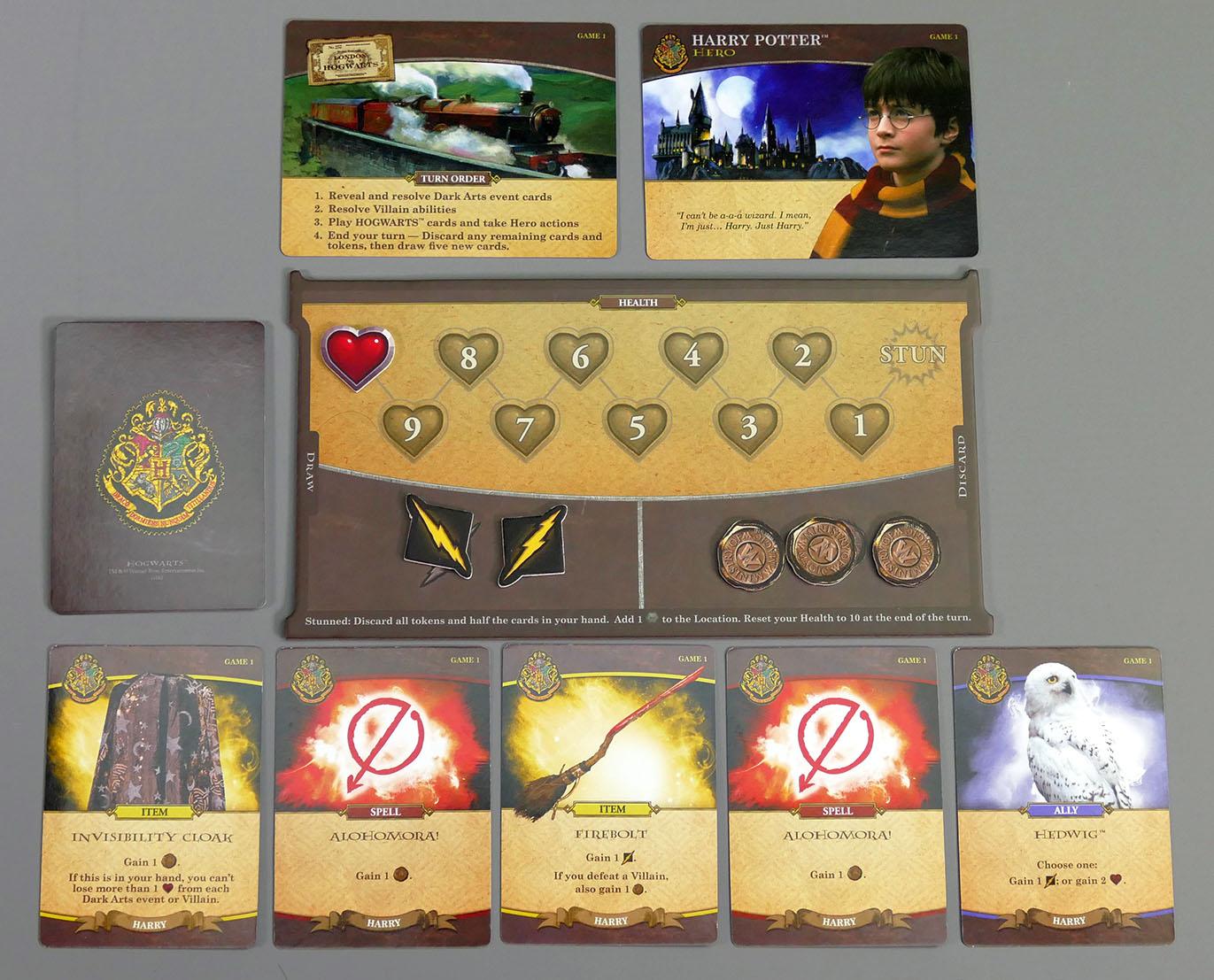 Hogwarts Battle Spielerbereich