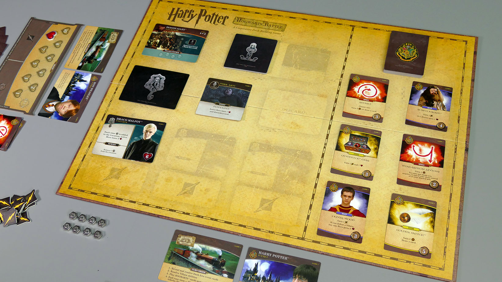 Hogwarts battle Ansicht schräg