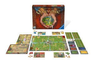 The Rise of Queensdale Spielaufbau. Bildquelle: Ravensburger Spiele