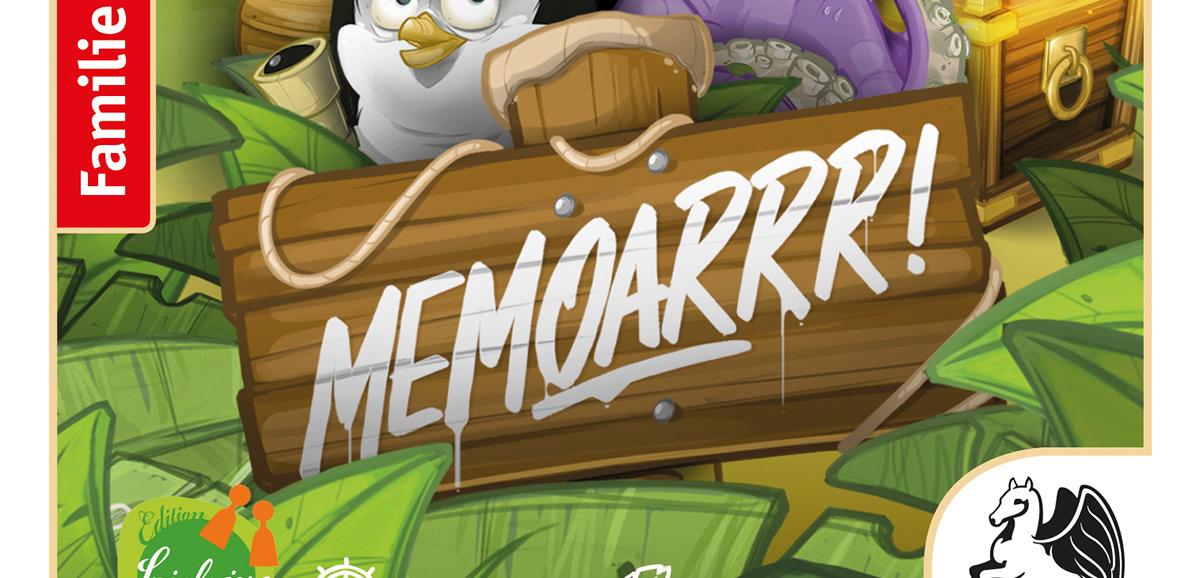 Memoarrr! Rezension. Bildquelle: Pegasus Spiele