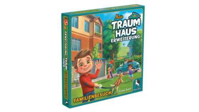 Mein Traumhaus Erweiterung Familienbesuch. Bildquelle: Pegasus Spiele.