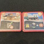 Die Gebäude 11a, 12a und 11b und 12b.