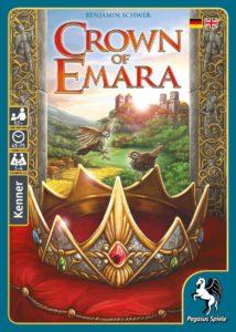 Crown of Emara. Bildquelle: Pegasus Spiele.