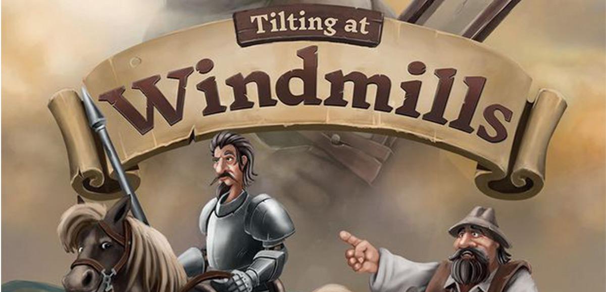 Tilting at windmills. Foto: Cogitate Games