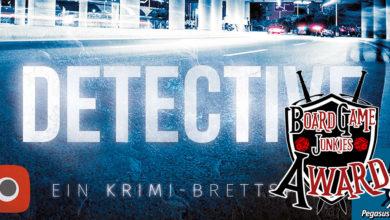 Detective: Ein Krimi-Brettspiel. Quelle: Pegasus Spiele