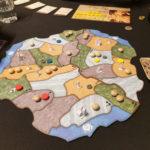 Spielfeld bei 3 Spielern - Spirit Island