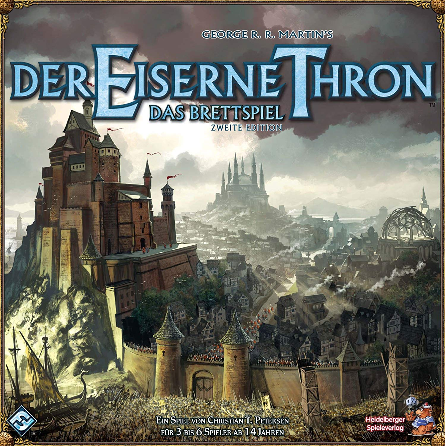 Bild von Rezension: Der Eiserne Thron 2nd Edition