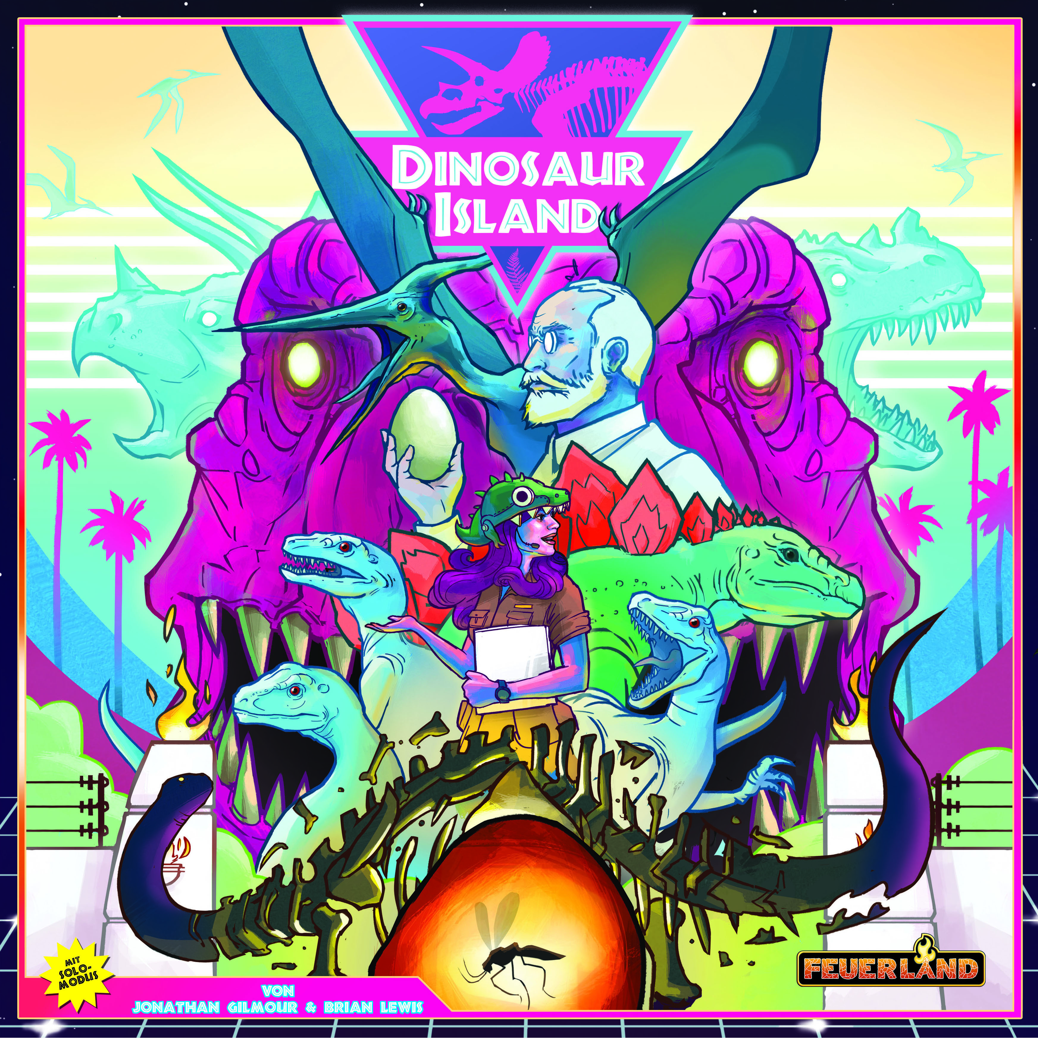 Dinosaur Island Cover - Feuerland Spiele