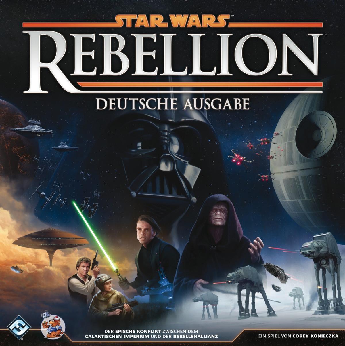 Bild von Rezension: Insert Star Wars Rebellion (LaserOx)